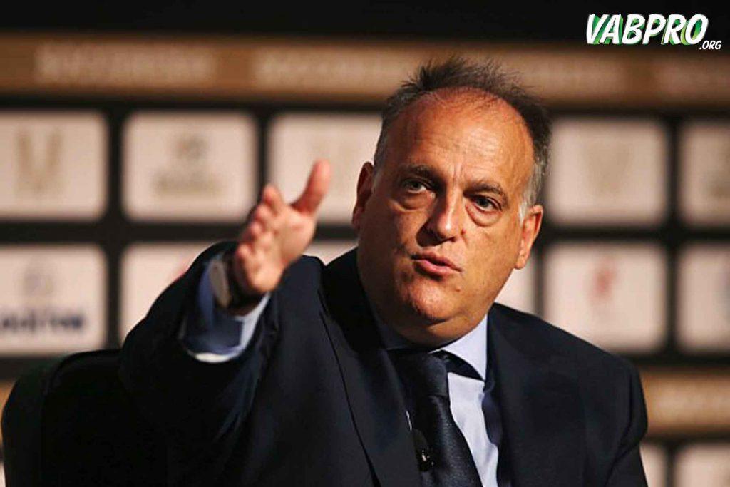 ฆาเบียร์ เตบาส ผู้มีตำแหน่งเป็นถึงนายใหญ่ของรายการฟุตบอลลาลีกาลีกสเปน - Vabpro.org