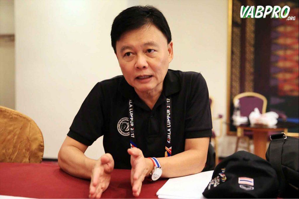 นายธนา ไชยประสิทธิ์ ผู้ทำหน้าที่หัวหน้าคณะนักกีฬาไทย - Vabpro.org